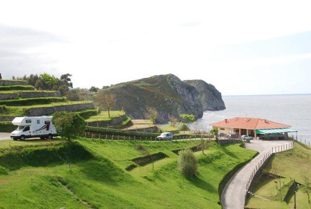 MandA Tours European Motorhome Tours: Campsite in northern Spain