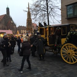 "Stage coach Nuremberg Christmas market Escorted Motorhome tour ""Europe's Best Christmas Markets"