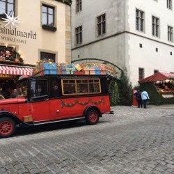"Oldtimer Christmas Market Rothenburg ob der Tauber Escorted European Motorhome Tour ""Europe's Best Christmas Markets"""