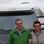 Susi and Udo during Escorted Motorhome Tour LMC / FREEONTOUR / MandA Tours