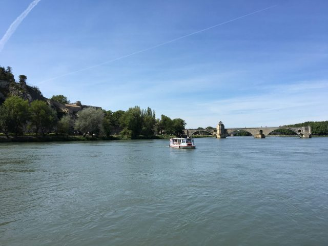 Ferry from Campsite to Avignon