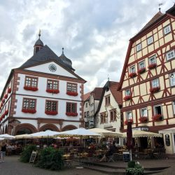 Maket square Lohr am Main