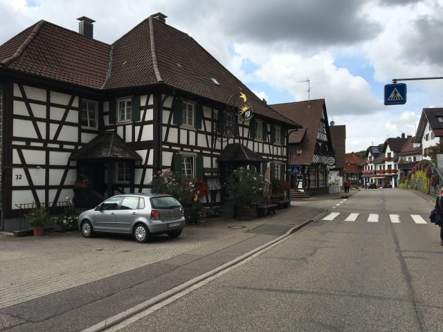 Main Street Sasbachwalden Breathtaking Black Forest escorted motorhome tour