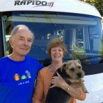 Carolyn, Andrew & Louie, 2018 Impressive Italian Lakes & Cities escorted motorhome tour