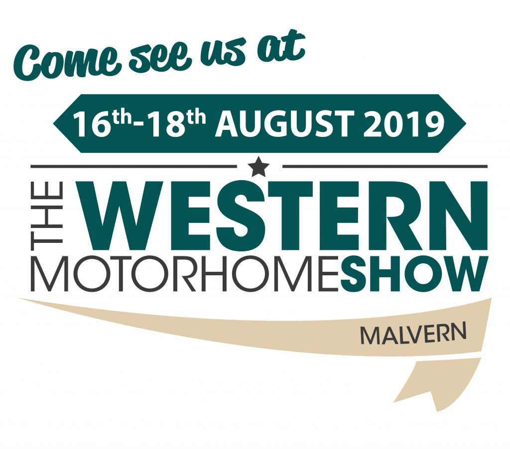 Logo Come See Us at the Western Motorhome Show 2019 in Malvern
