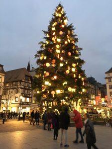Christmas tree Strasbourg 2018