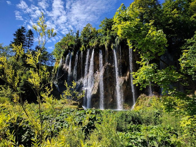 Waterfall Plitvice Lakes