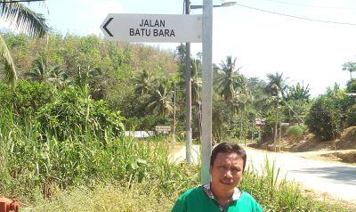 Jalan Batubara di Kampung Kerangai