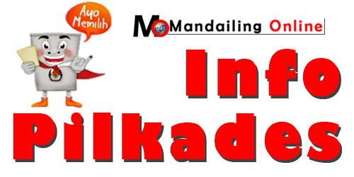 Info Pilkades di Madina grafis