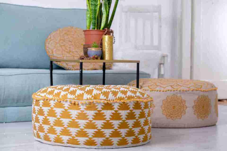 Luxury Bohemian Floor Cushion 4