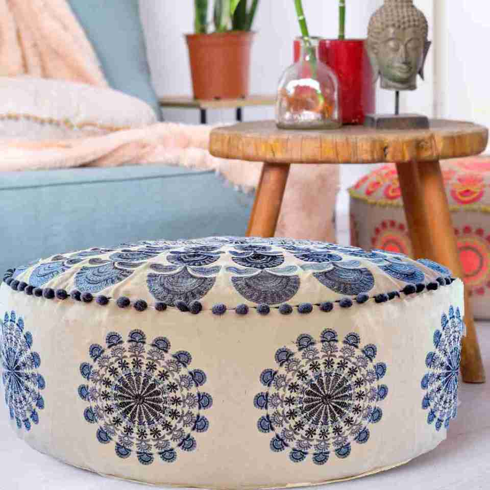 Luxury Bohemian Floor Cushion 6