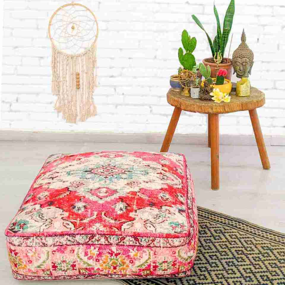 Blhemian Pouf Floor Pillow Cushion 13