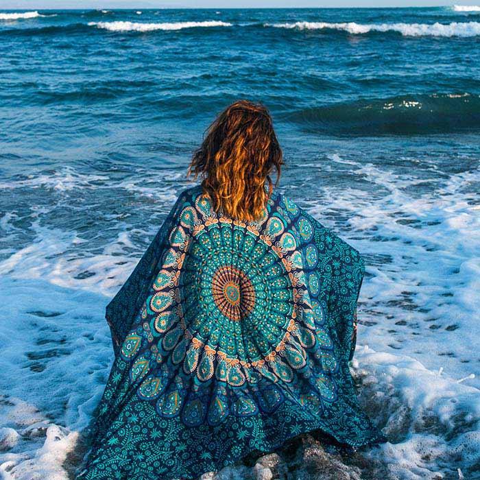 Blue Mandala Beach Pareo