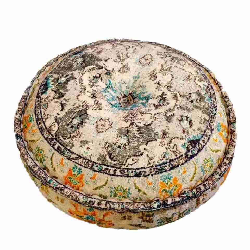 Bohemian Decor Floor Cushion Pouf Carpet Floor Pillow Boho Chic Large Living Room Bedroom chidren room 18