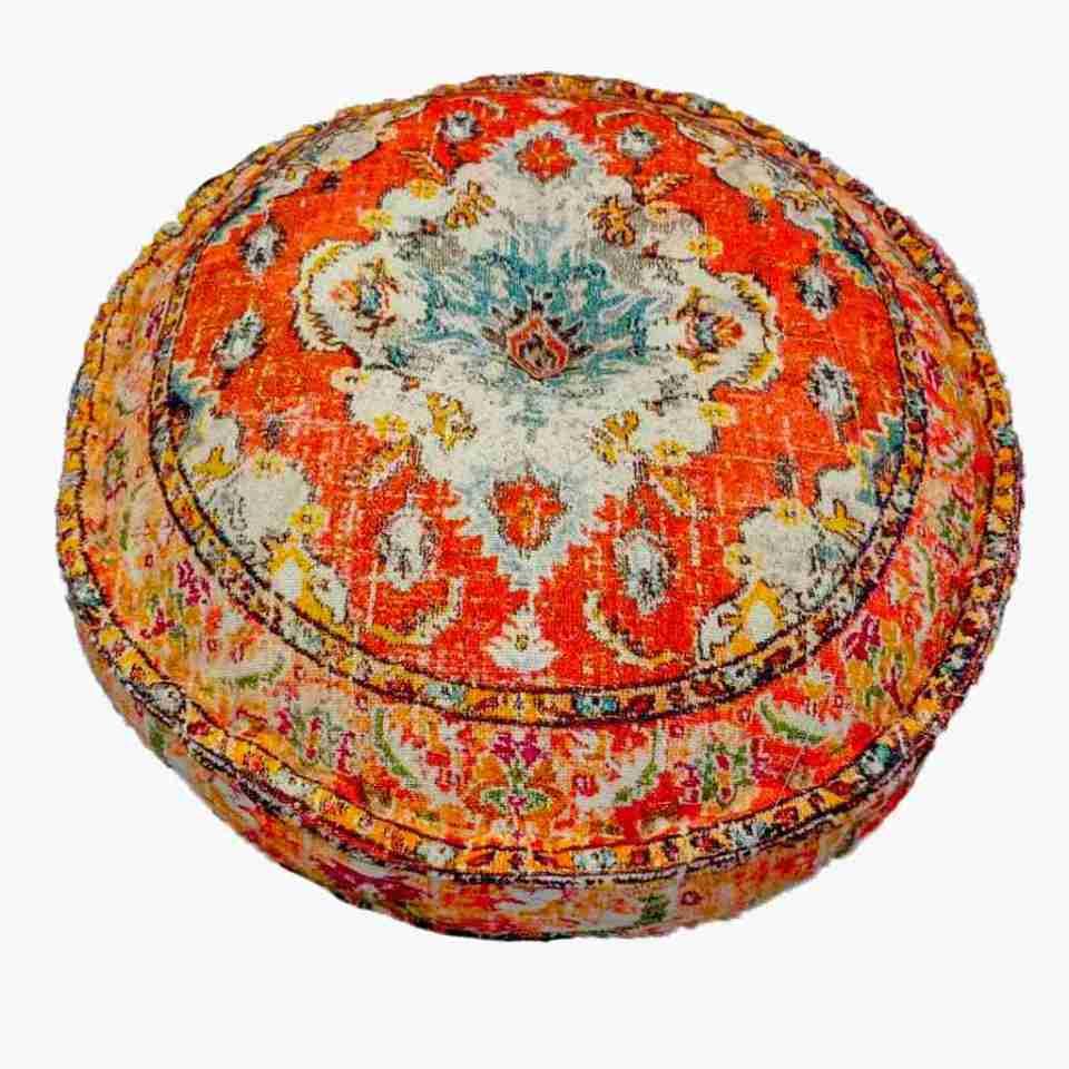 Bohemian Decor Floor Cushion Pouf Carpet Floor Pillow Boho Chic Large Living Room Bedroom chidren room 62