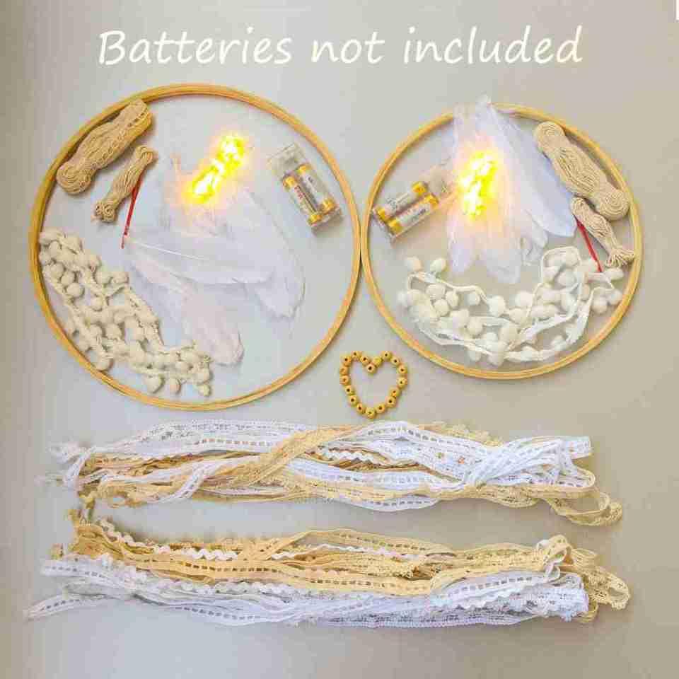 Fairy Lights DIY Dream Catcher Kit