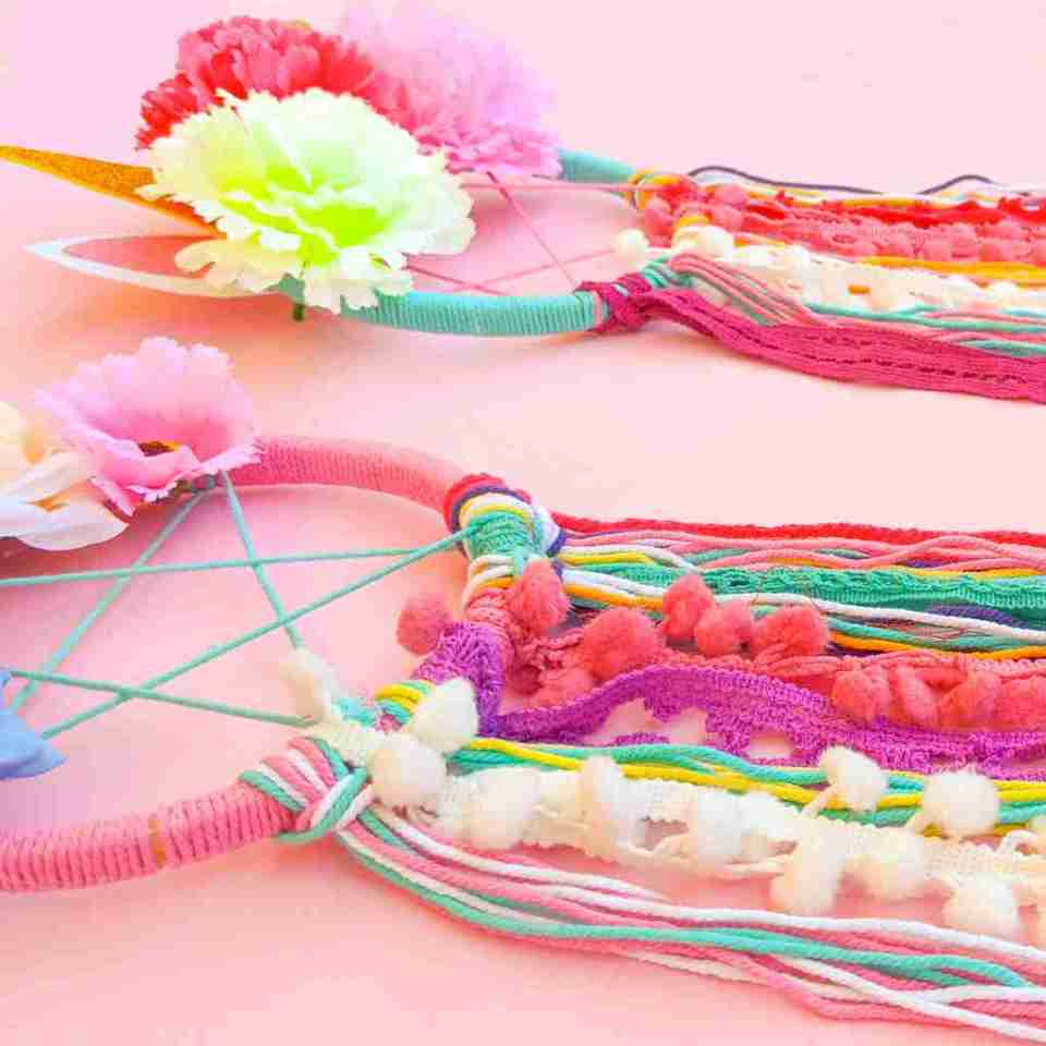Unicorn DIY Dream Catcher Kit