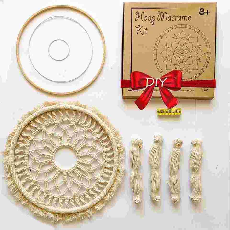DIY Round Macrame Kit