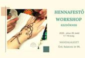 Hennafestő Workshop Kezdőknek @ Mandalaliget Kulturális és Egészségközpont