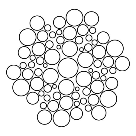 Mandala Geométrico Círculos Espiral