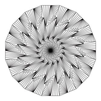 mandala abstracto para imprimir