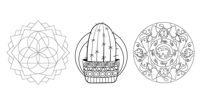 Mandalas Faciles Para Colorear Mandalas Para Colorear Muy: 10+ Mandalas Fáciles Para Colorear: ¡descarga Gratis