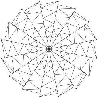 Mandala Abstracto Moderno