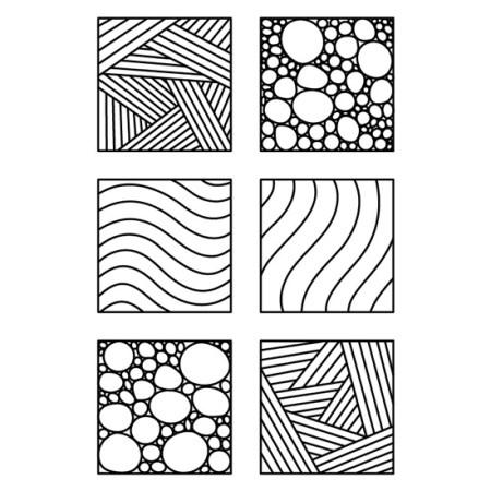 Zentangles para Colorear