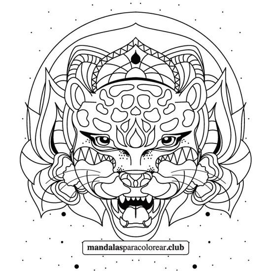 mandala de jaguar