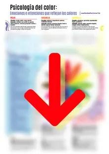 Qué significan los colores - Infografía PDF