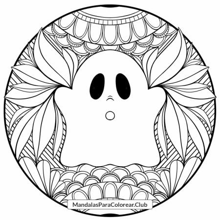 Mandala Fantasma Zentangle