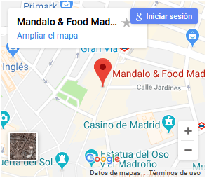 Como llegar a Mándalo Spain