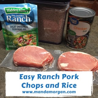 Ranch Pork Chops - Authentically Amanda - www.mandamorgan.com