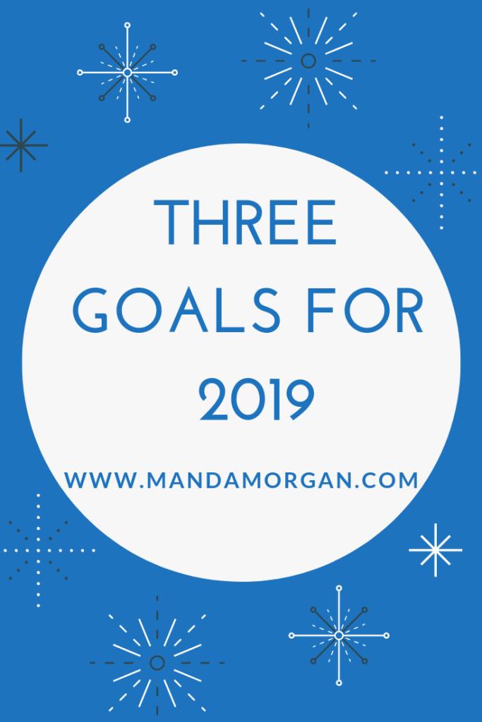 Goals for 2019 - www.mandamorgan.com