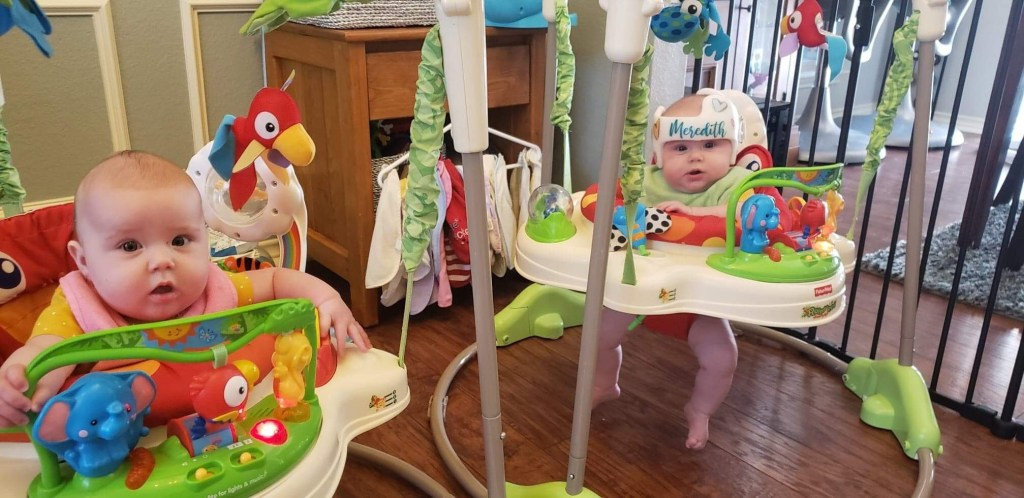 Identical Twins Monthly Update - Six Months - www.mandamorgan.com