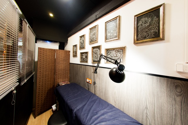 Mandarina Tattoo Studio Interior 02