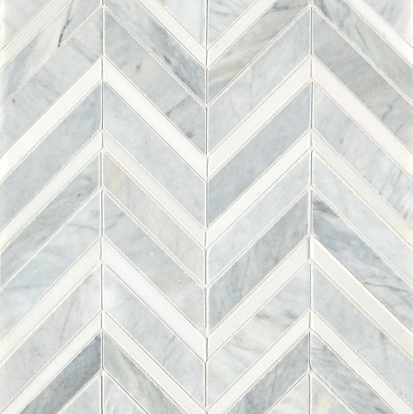alps honed polished chevron marble mosaic tile mandarin stone