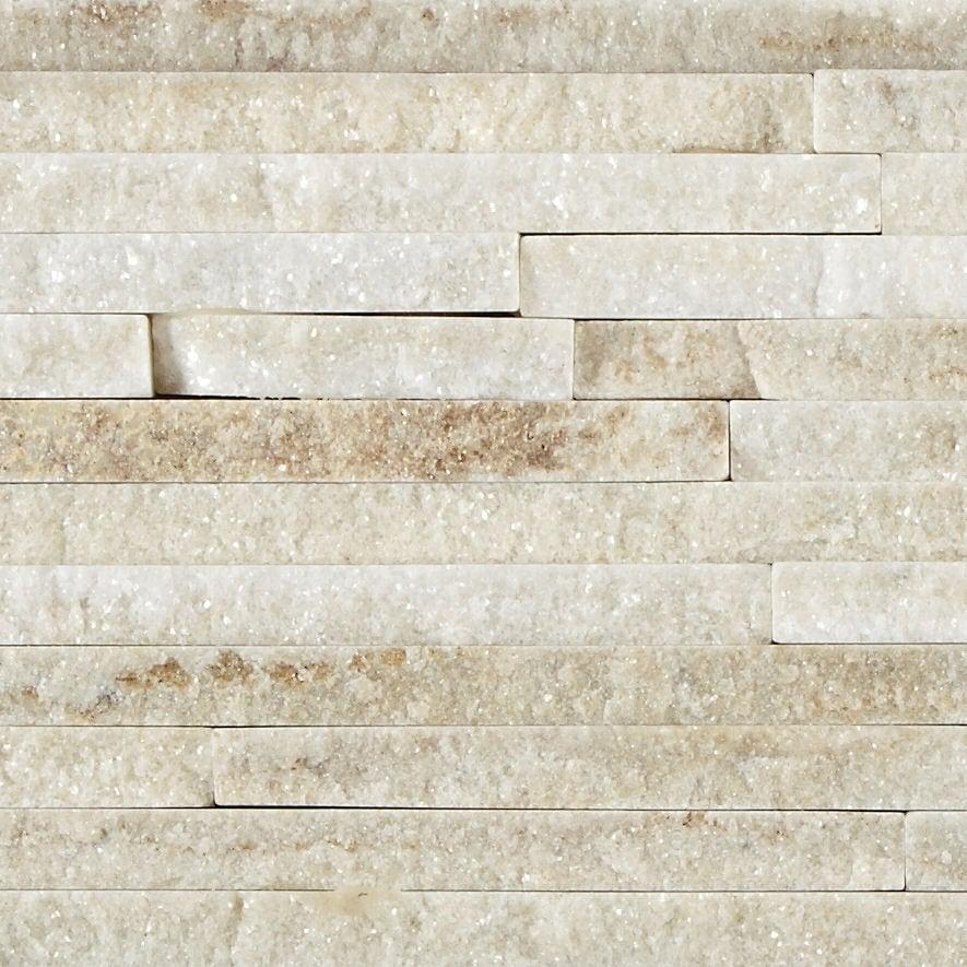 cream quartzite mini splitface tiles mandarin stone