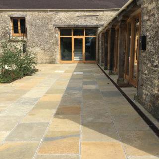 outdoor garden stone tiles mandarin