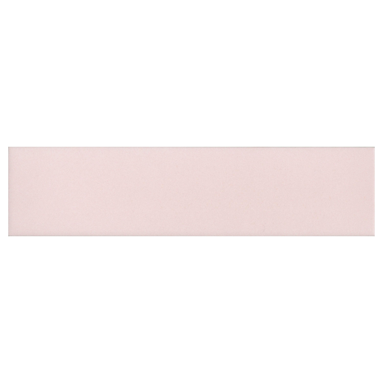 oska powder pink matt porcelain tile mandarin stone