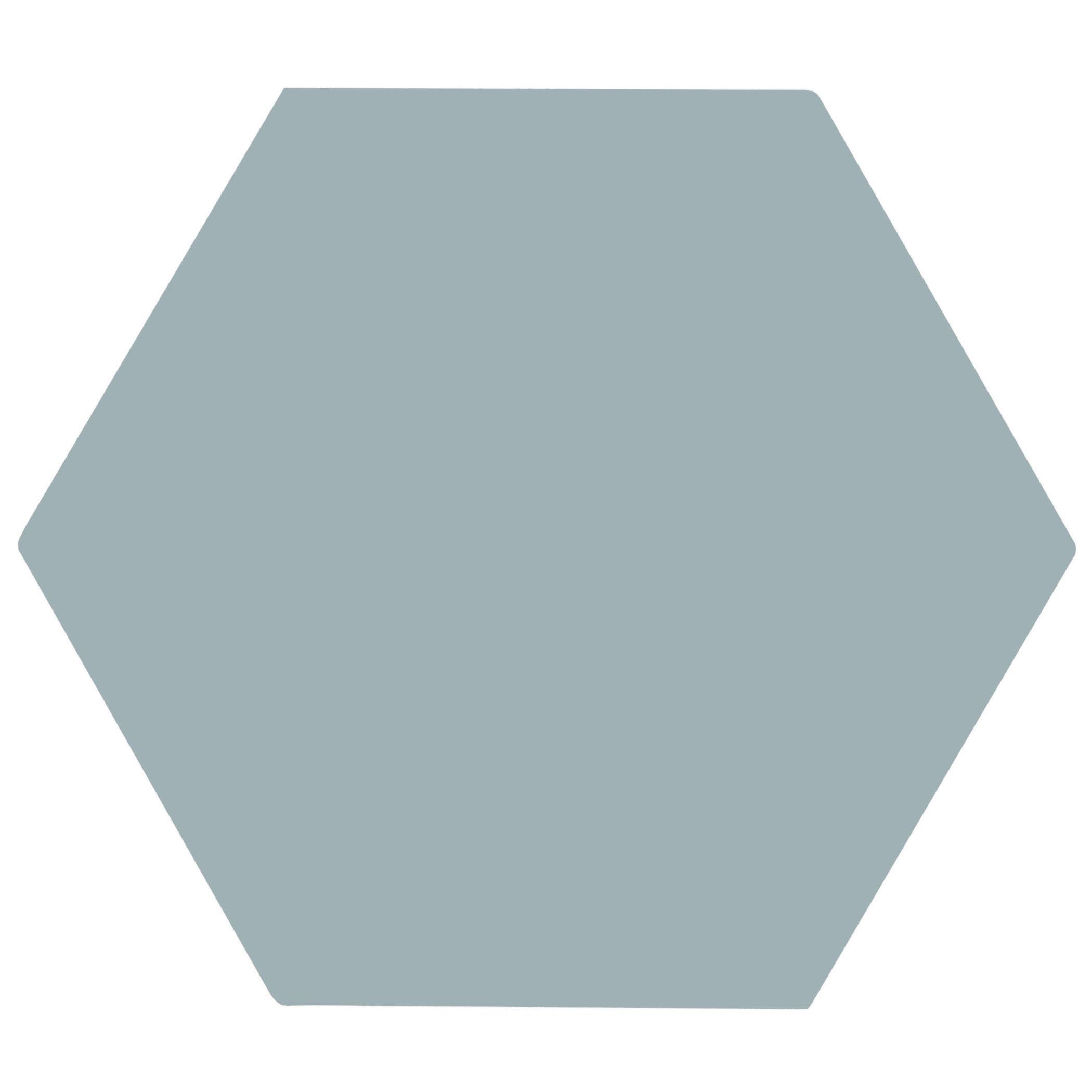 oska powder blue matt porcelain hexagon tiles mandarin stone