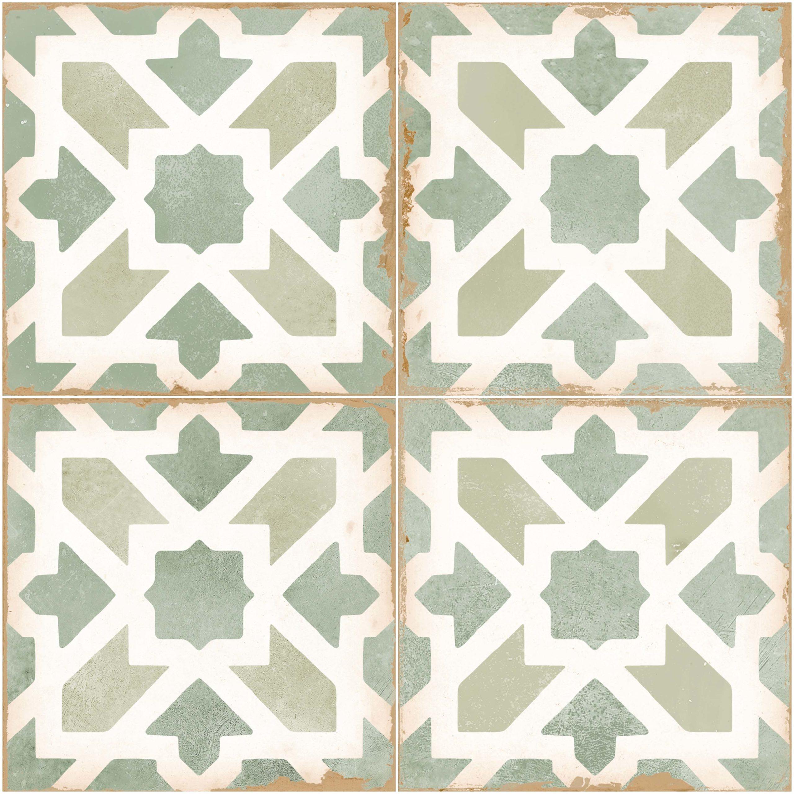 tangier ivy green ceramic tiles mandarin stone