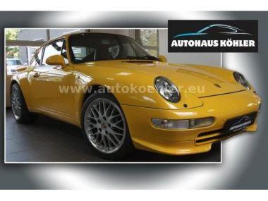 NOUVEAU +++ Porsche Voiture d'occasion: Porsche 911 Urmodell 993 Carrera RS Paket Wertgutach für 64999 € +++ Les meilleures offres | Coupé, 83000 km, 1996, Essence, 286 CV, Jaune | 134296775 | auto.de