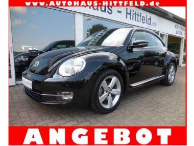 NOUVEAU +++ VW Voiture d'occasion: VW New Beetle Beetle 2.0 TDI Sport DSG Klimaaut Pano S für 17750 € +++ Les meilleures offres | Berline, 39000 km, 2012, Diesel, 140 CV, Noir | 135976285 | auto.de