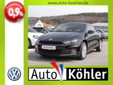 NOUVEAU +++ VW Voiture d'occasion: VW Scirocco 1.4 TSi Sportpaket incl. Winterräder für 21658 € +++ Les meilleures offres   Coupé, 7500 km, 2015, Essence, 125 CV, Noir   133640399   auto.de