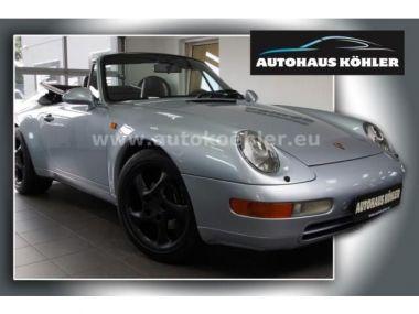 NOUVEAU +++ Porsche Voiture d'occasion: Porsche 911 Urmodell Carrera Cabrio 1.Hand dt.Auto S für 52400 € +++ Les meilleures offres | Cabriolet/Décapotable, 188000 km, 1994, Essence, 272 CV, Argent | 135225550 | auto.de
