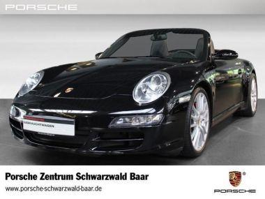NOUVEAU +++ Porsche Voiture d'occasion: Porsche 911 (911) Carrera S Cabrio für 56900 € +++ Les meilleures offres | Cabriolet/Décapotable, 66900 km, 2008, Essence, 355 CV, Noir | 135891558 | auto.de