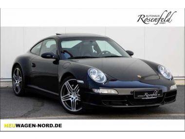 NOUVEAU +++ Porsche Voiture d'occasion: Porsche Carrera 911  4 ESD/BOSE/Leder/Xenon/TOP!!! für 38890 € +++ Les meilleures offres | Coupé, 93300 km, 2007, Essence, 325 CV, Noir | 135784090 | auto.de