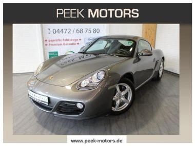 NOUVEAU +++ Porsche Voiture d'occasion: Porsche Cayman 2.9 Navi Alcantara PDC Alu PSM ASK für 31790 € +++ Les meilleures offres | Coupé, 62800 km, 2009, Essence, 265 CV, Gris | 137053755 | auto.de