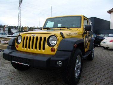 NOUVEAU +++ Jeep Voiture d'occasion: Jeep Wrangler Rubicon 2.8 CRD Handschalter *Webasto*Fr für 21990 € +++ Les meilleures offres   Autres, 115000 km, 2009, Diesel, 177 CV, Jaune   137617828   auto.de